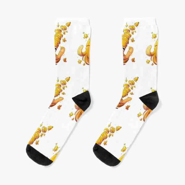 Banana Squid Socks