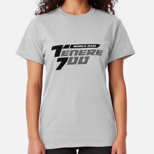 Yamaha Tenere 700 Logo Black Classic T-Shirt
