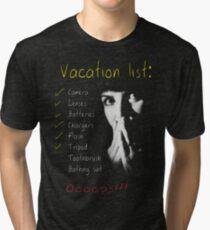 A Photographer's Vacation Tri-blend T-Shirt