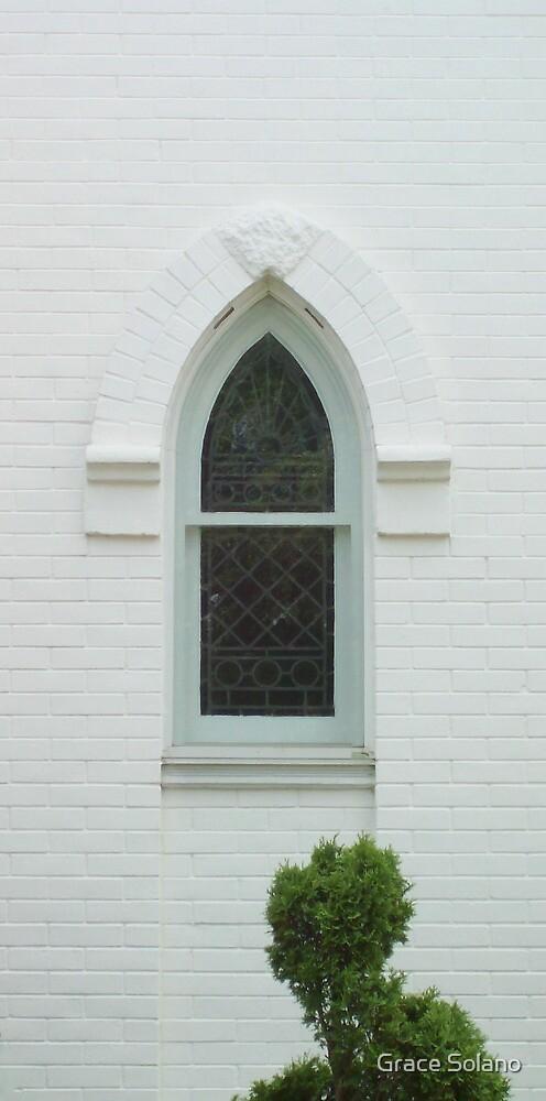 Church Window by Graciela Maria Solano