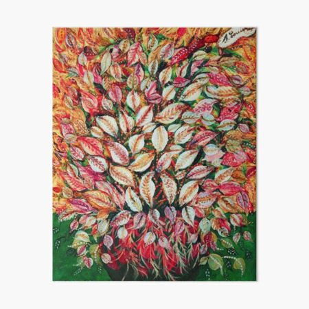 Favourite Artist - Seraphine Louis - Feuilles Art Board Print