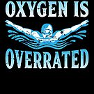 Oxygen Is Overrated Arm strokes Funny Swimming von mjacobp