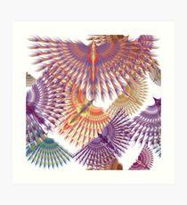 Firebird in Colours Art Print
