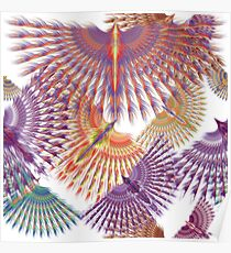 Firebird in Colours Poster