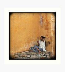 beggar Art Print