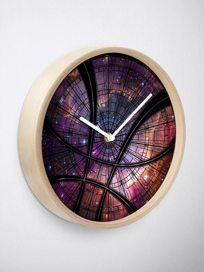 Alternate view of Strange window Clock