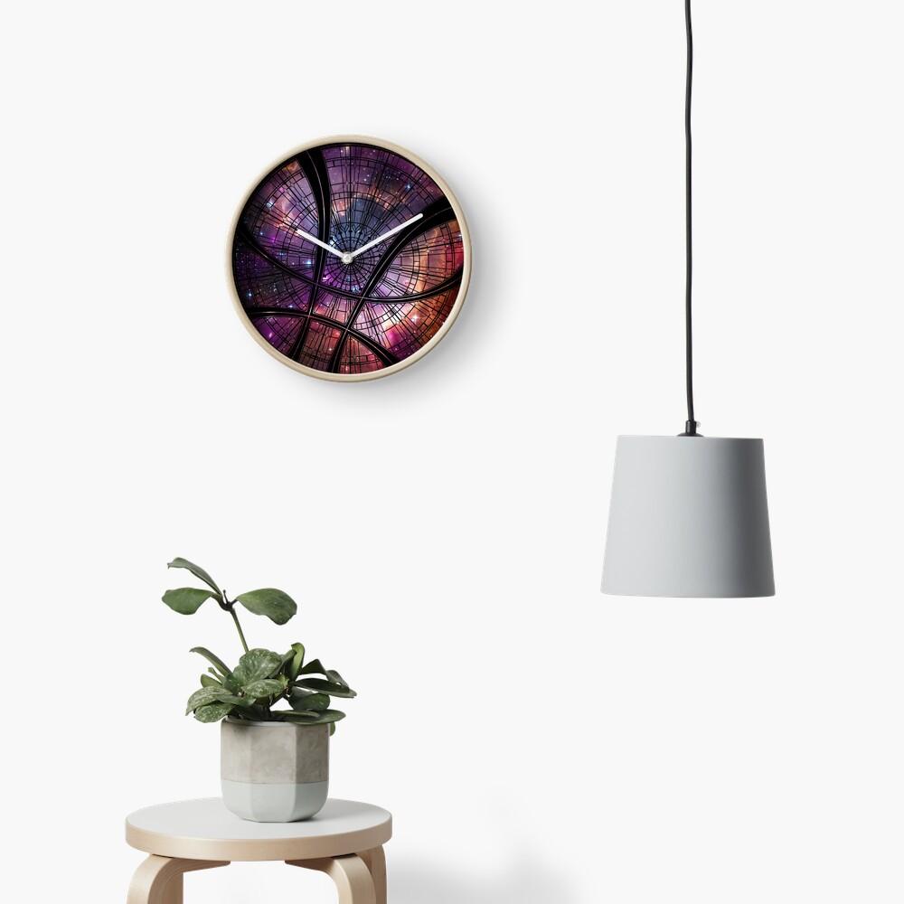 Strange window Clock
