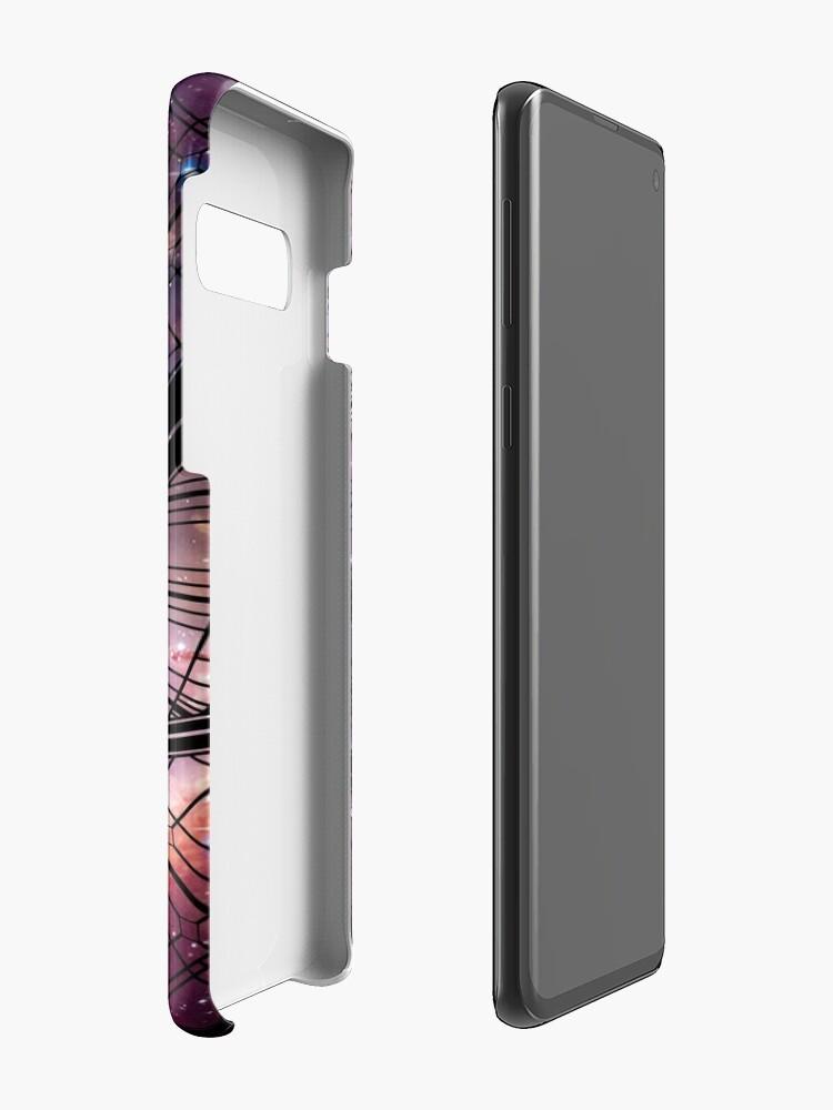 Alternate view of Strange window Case & Skin for Samsung Galaxy
