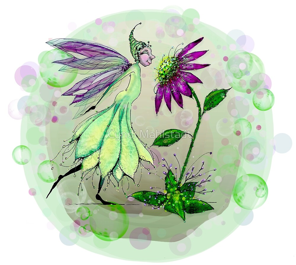 We Have So Much in Common - Fairie and Daisy by Cyndi Mahlstadt