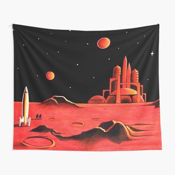 CITY ON MARS Tapestry
