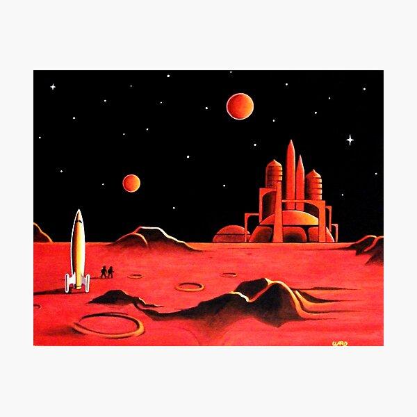 CITY ON MARS Photographic Print