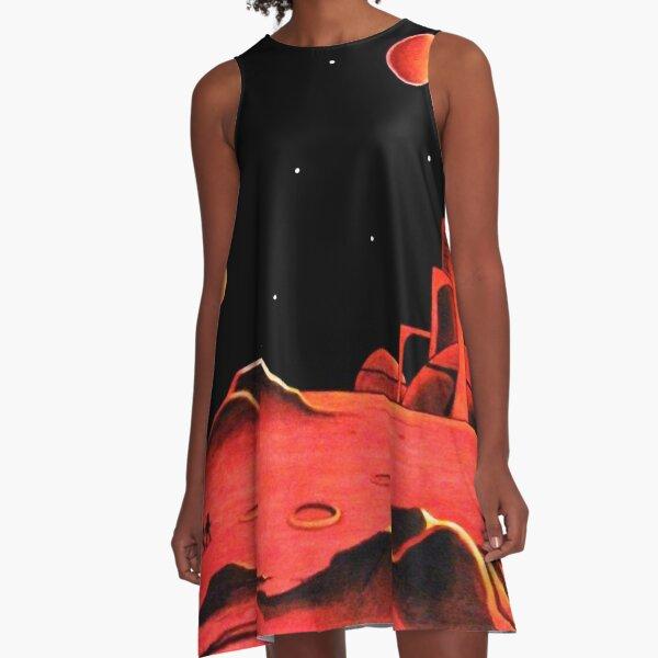 CITY ON MARS A-Line Dress
