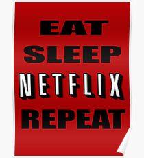 Eat Sleep Netflix wiederholen Poster