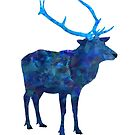 The Stag by sutherlandart