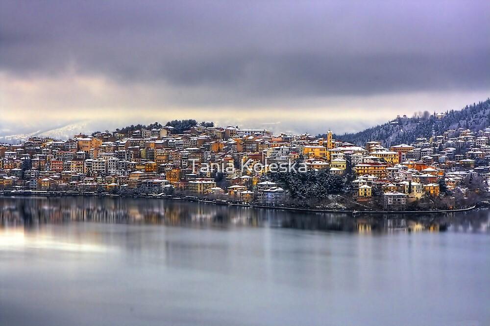 snowy Kastoria... by Tania Koleska