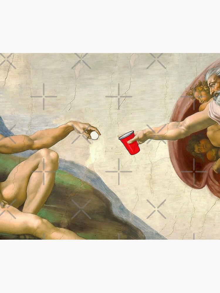 Sistine of Beer Pong by snoopdoggydom