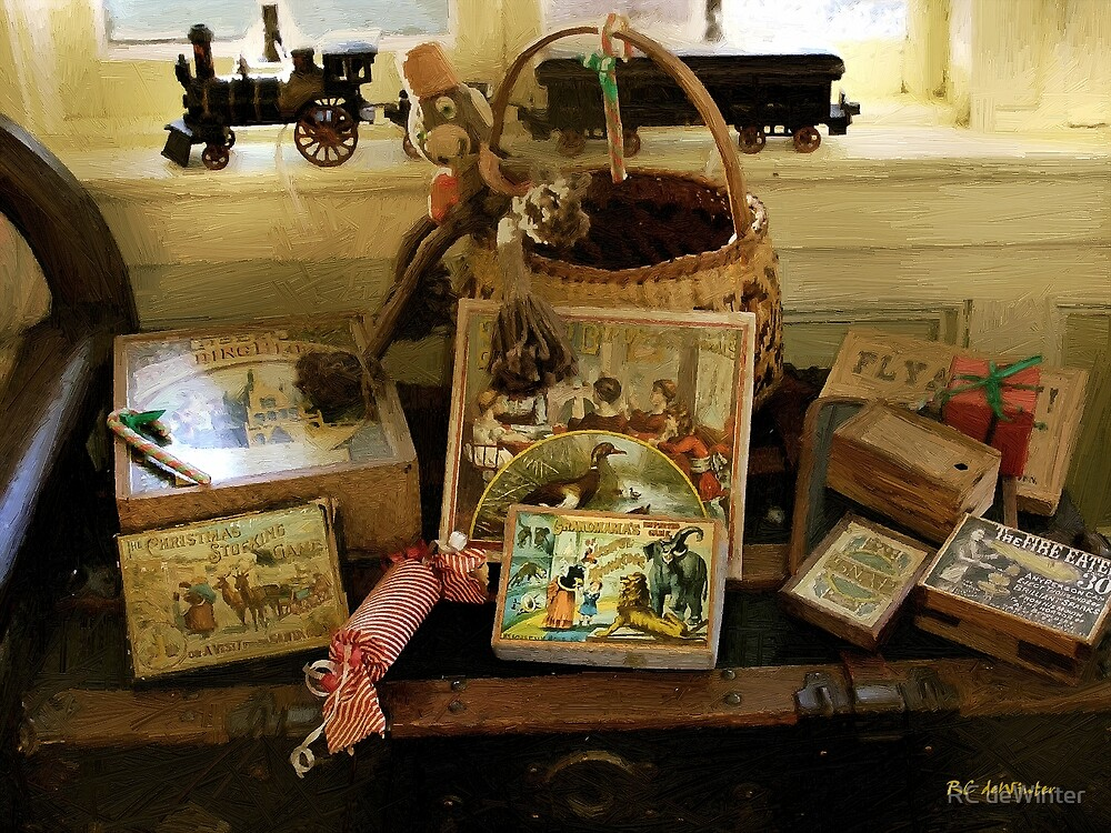 The Toy Chest by RC deWinter
