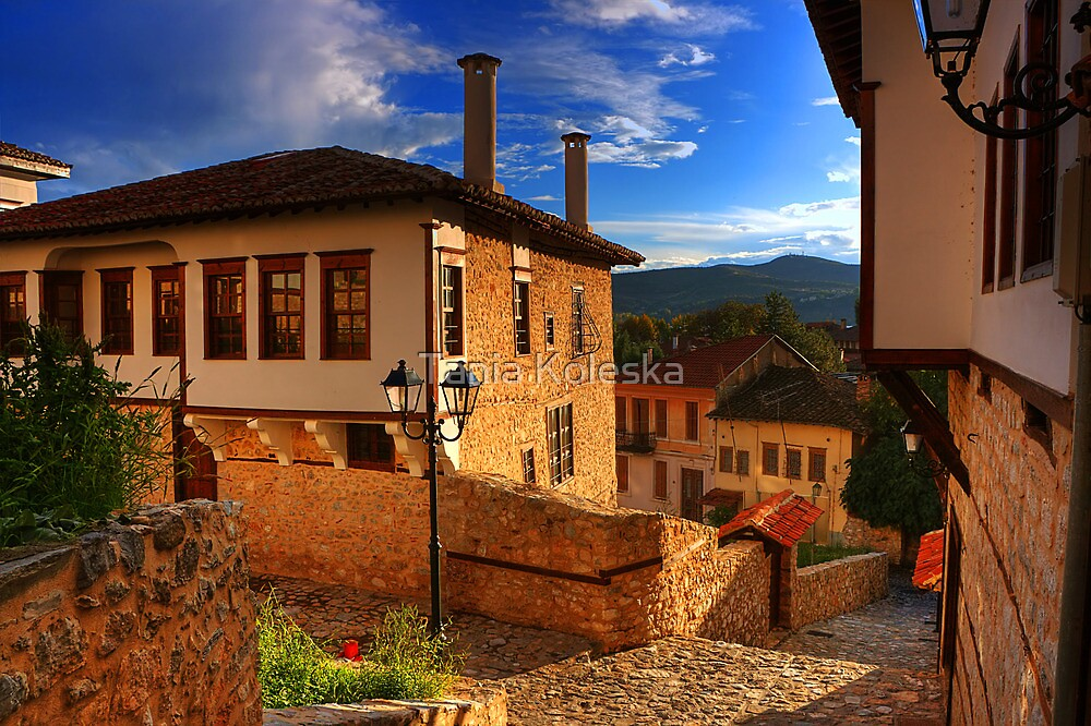 "Old house in Old Kastoria...""Ntoltso"" by Tania Koleska"