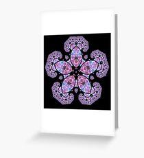 Penta Crystal Greeting Card