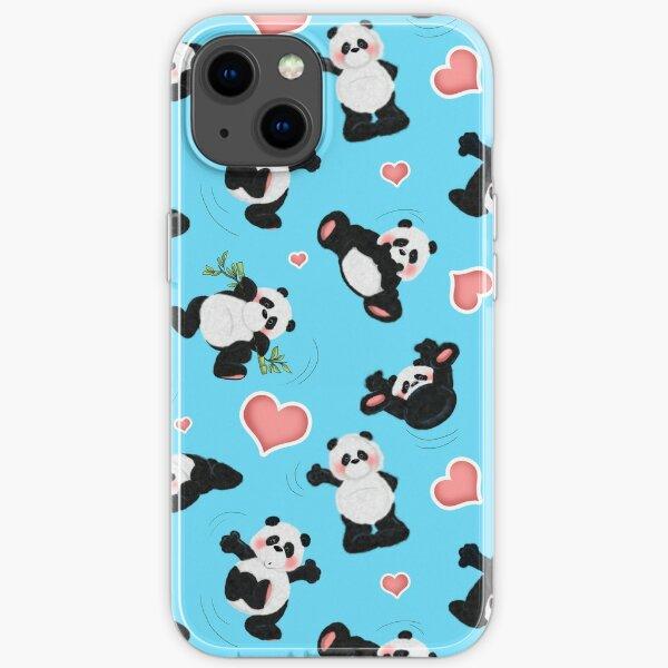 Panda Bear Affair iPhone Soft Case