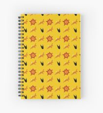 Chasing Life and Death Spiral Notebook