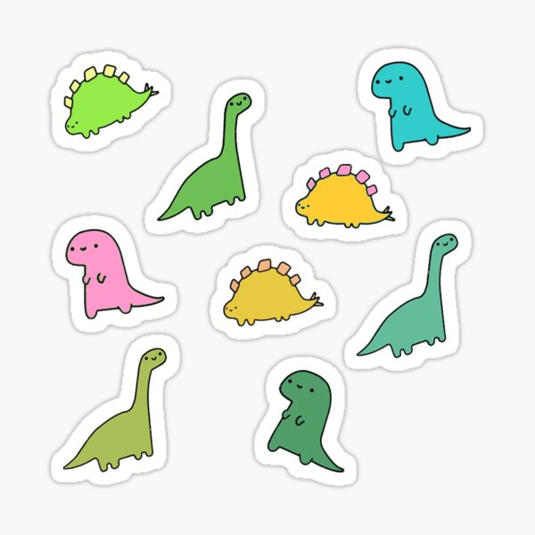 tiny diny (sticker pack 2) Sticker