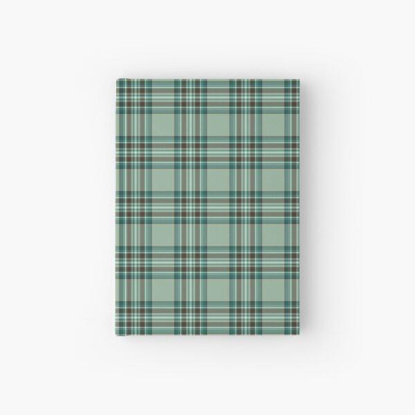 Kelly Tartan Pattern Mint Green Irish Plaid Hardcover Journal