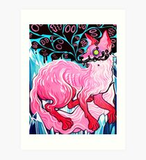 Fox - Acrylic Painting Art Print