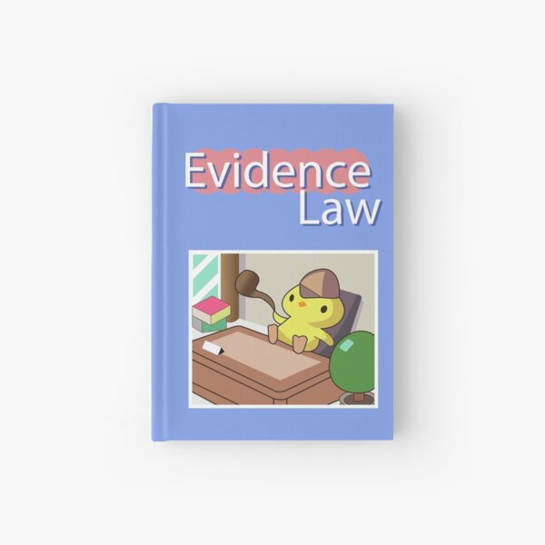 Ace Attorney - Evidence Law Hardcover Journal