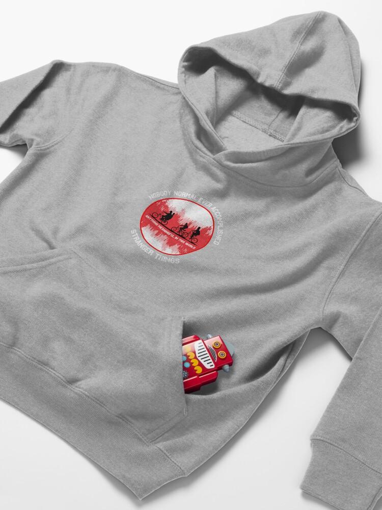 Alternate view of Stranger Things Shirt - Stranger Things Normal t shirt - Stranger Things Mug - Stranger Things t-shirt - Stranger Things tee Kids Pullover Hoodie