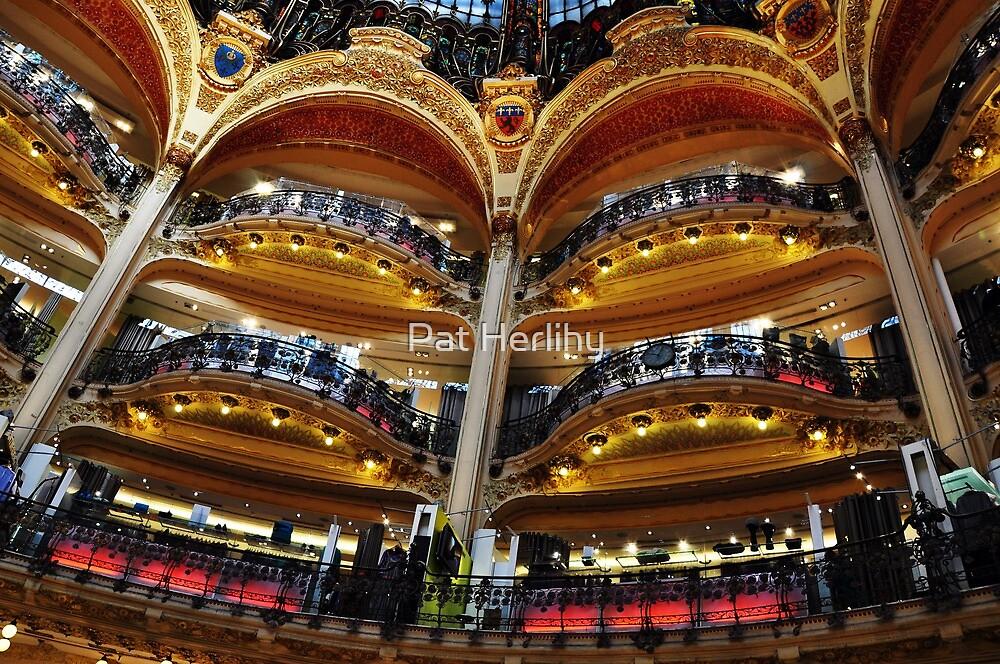 Shop Interior, Paris by Pat Herlihy