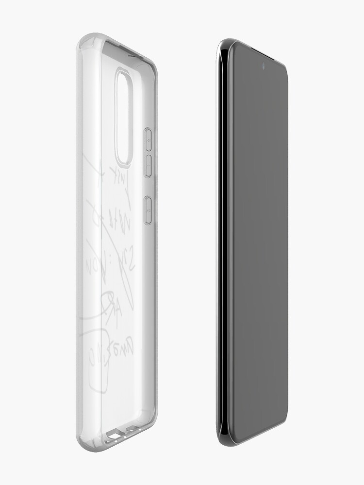 Alternate view of just a note to say: you are amazing Case & Skin for Samsung Galaxy