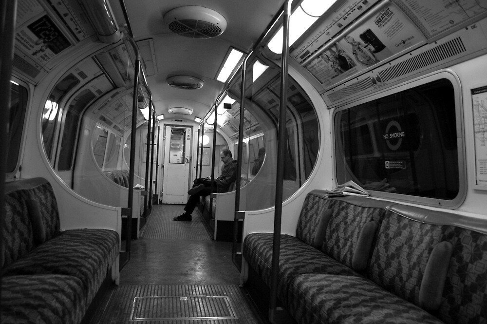 The Lone Commuter by Richard Fox