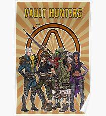 Borderlands 3 Vault Hunters Poster