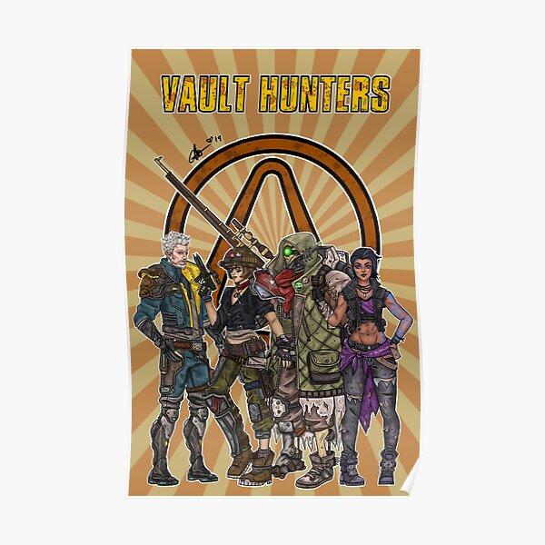 Borderlands 3 Vault Hunters Poster