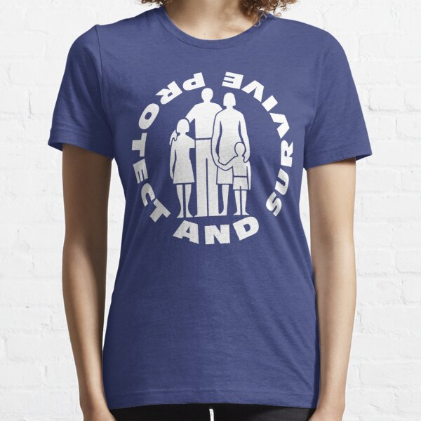 NDVH Protect and Survive 2 Essential T-Shirt