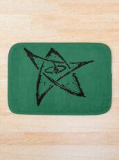 Call of Cthulhu, The Elder Sign - Ink Black Bath Mat