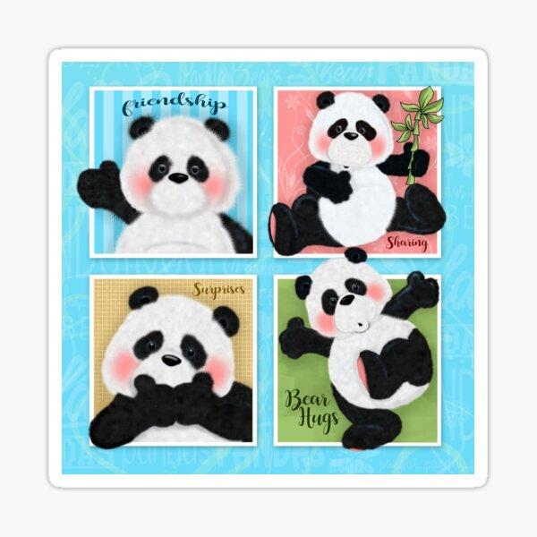 Panda Bear Affair Sticker