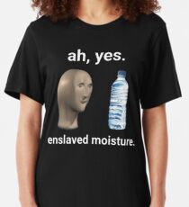 Ah Yes Enslaved Moisture  Slim Fit T-Shirt
