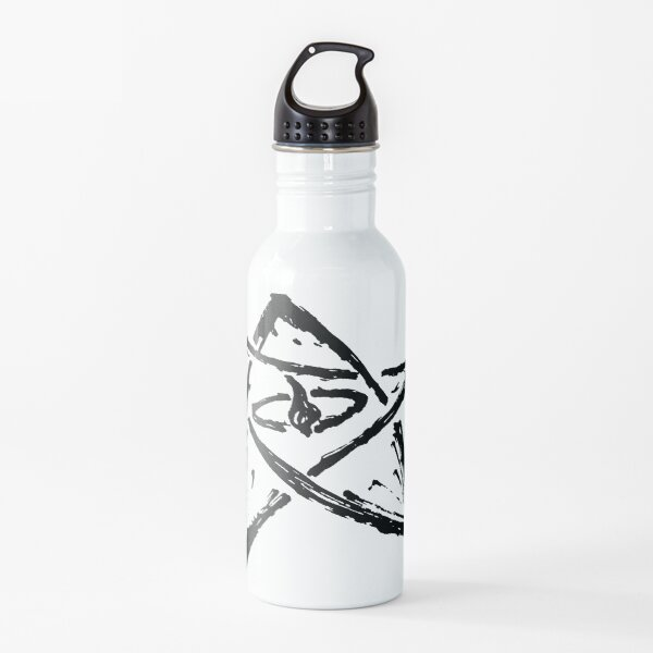 Call of Cthulhu, The Elder Sign - Ink Black Water Bottle