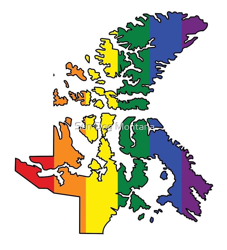 Nunavut Pride! by Sun Dog Montana