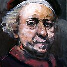 Study of Rembrandt by Antonio  Luppino