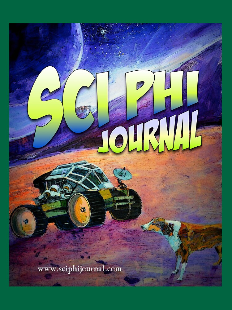 Sci Phi Journal - Illustration for 'Paw prints in the Aeolian Dust' by sciphijournal
