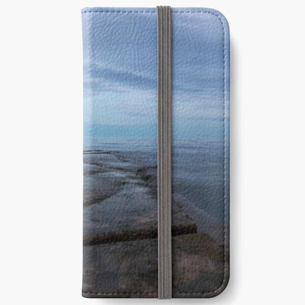 Sunset at the lake iPhone Wallet