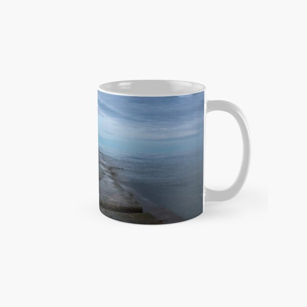 Sunset at the lake Classic Mug