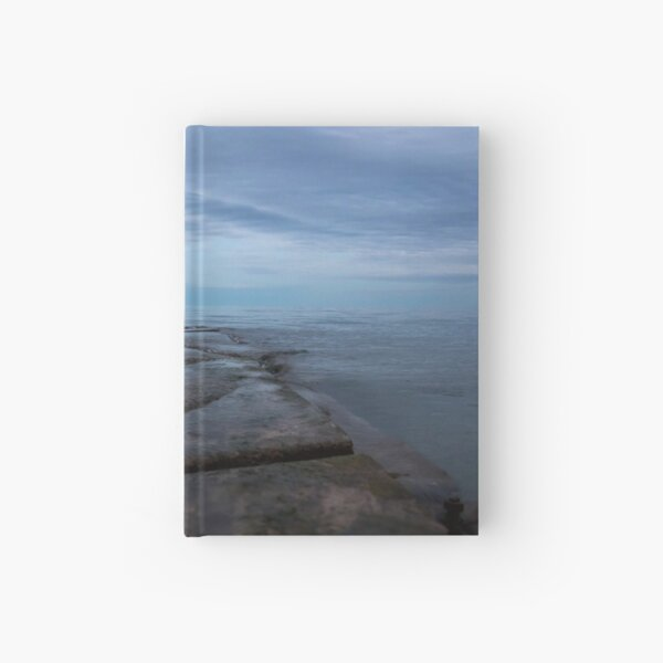Sunset at the lake Hardcover Journal