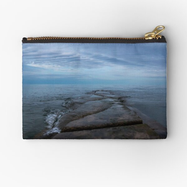 Sunset at the lake Zipper Pouch