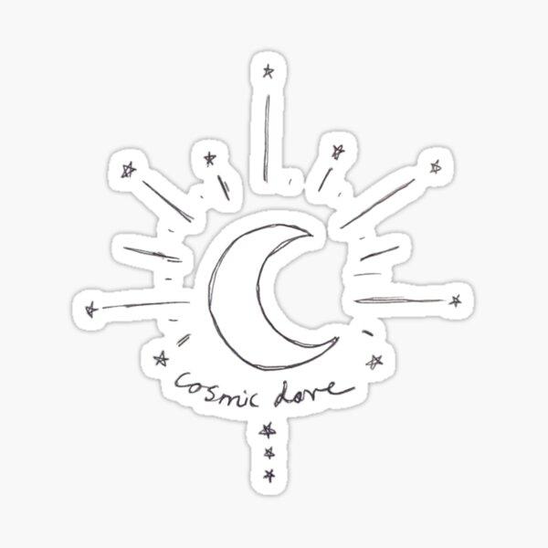 cosmic love Sticker