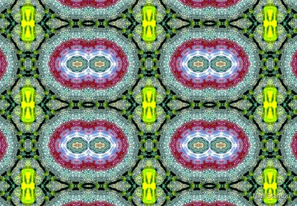 Field of flowers pattern by Niall Stanton
