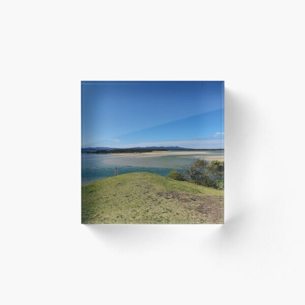 Mallacoota Captain Stevenson's Point  Acrylic Block